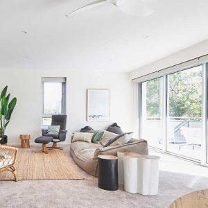Jervis Bay Executive Apartment Lounge Room